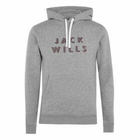 Jack Wills Batsford Hoodie - Grey Marl