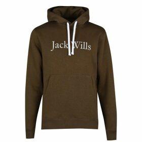 Jack Wills Batsford Heritage Hoodie - Olive