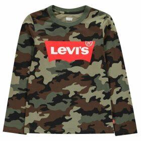 Levis Camo Batwing T Shirt - Camo E7V
