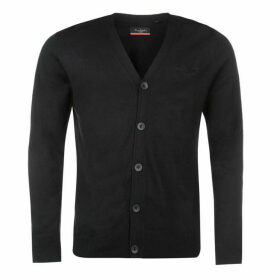 Pierre Cardin Cardigan Mens - Black