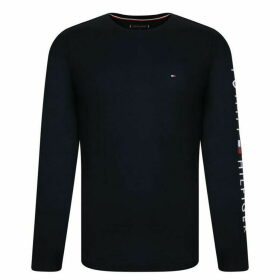 Tommy Hilfiger Long Sleeve Cotton T Shirt - Sky Captain
