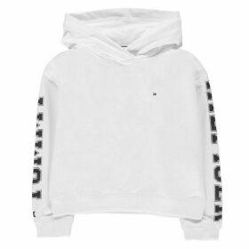 Tommy Hilfiger Essential Sleeve Logo Hoodie - Snow White
