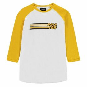 Brixton Three Quarter T Shirt Mens - Chiba Off Wht