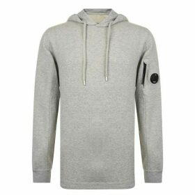 CP COMPANY Micro Lens Hooded Sweatshirt - Grey M93