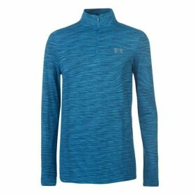 Under Armour Threadborne Seamless Quarter Zip Top Mens - Sky