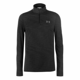 Under Armour Threadborne Seamless Quarter Zip Top Mens - Black