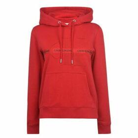 Calvin Klein Jeans CKJ Mono Tape Hoodie Ld01 - RACING RED