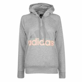 adidas Linear OTH Hoody Ladies - Grey/HazeCoral