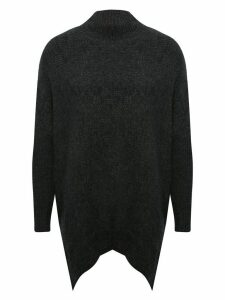 Women's Ladies oversized high neck jumper