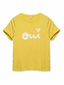 Women's Khost Clothing ladies Oui slogan t-shirt