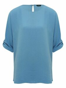 Women's Ladies tabbed sleeve tunic top
