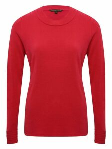 Women's Ladies turtleneck jumper long sleeve slim fit soft touch knit