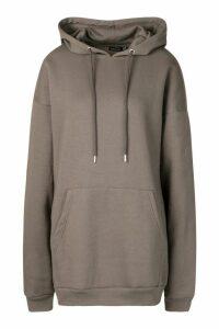 Oversized Hoodie - Grey - M, Grey