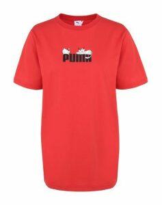 PUMA x HELLO KITTY TOPWEAR T-shirts Women on YOOX.COM