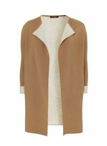 Neutral Contrast Cardigan, Neutral