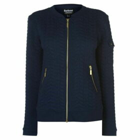 Barbour International Barbour Aragan Full Zip Sweater Womens