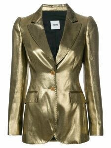 Moschino Pre-Owned metallic fitted jacket