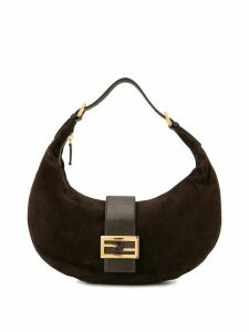 Fendi Pre-Owned Mamma Baguette shoulder bag - Brown