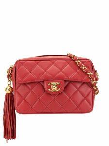 Chanel Pre-Owned tassel detail crossbody bag - Red