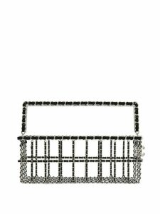 Chanel Pre-Owned 2014 Shopping Basket bag - SILVER
