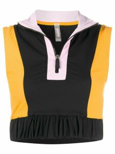 No Ka' Oi colour-block tank top - Black