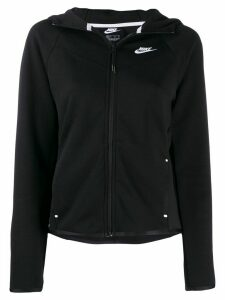 Nike zip up hoodie - Black