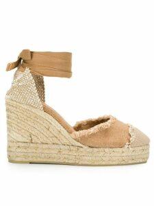 Castañer Catalina wedge sandals - NEUTRALS