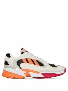 adidas Yung-1 stripe sneakers - NEUTRALS