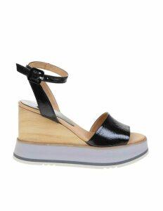 Paloma Barcelo black Gisele Sandal