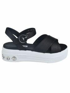 Miu Miu Cross-strap Sandals