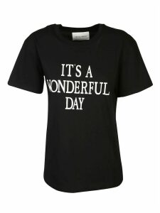Alberta Ferretti Its A Wonderfull Day T-shirt