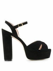 Stuart Weitzman Soliesse platform sandals - Black
