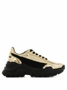 Joshua Sanders Zenith two-tone platform sneakers - Black