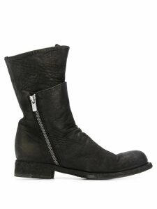 Officine Creative Hubble layered boots - Black