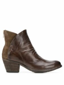 Officine Creative Giselle 50mm boots - Brown