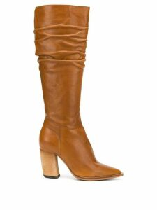 Officine Creative zipped mid-calf boots - Brown