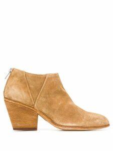 Officine Creative Jacqueline 75mm boots - NEUTRALS