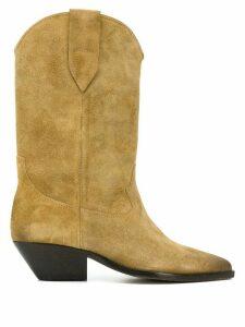 Isabel Marant Duerto cowboy boots - NEUTRALS