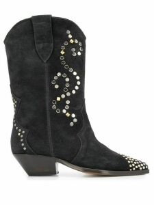 Isabel Marant Duerto riveted texan boots - Black