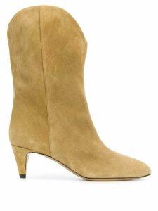 Isabel Marant Dernee mid-heel boots - NEUTRALS