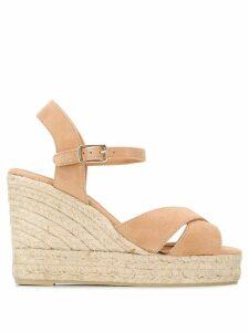 Castañer Blaudel wedge espadrille sandals - NEUTRALS