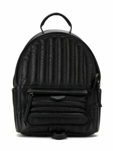 Sarah Chofakian quilted backpack - Black