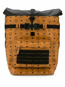 MCM 1976 Roll-Top backpack - Brown