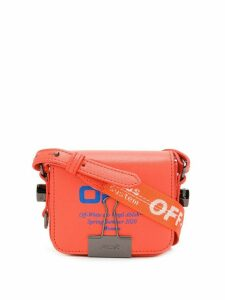 Off-White Baby Flap tote - Red