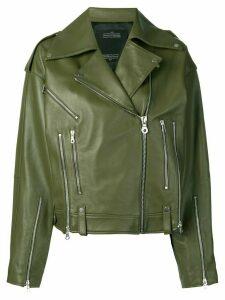 Rokh moto jacket - Green