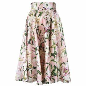 Dolce and Gabbana Lilium Midi Skirt