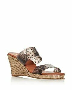Andre Assous Women's Anfisa Wedge Slide Sandals