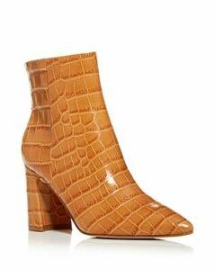Marc Fisher Ltd. Women's Daith Croc-Embossed Booties