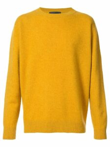 The Elder Statesman crew neck jumper - Yellow