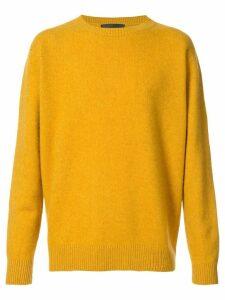 The Elder Statesman crew neck jumper - Yellow